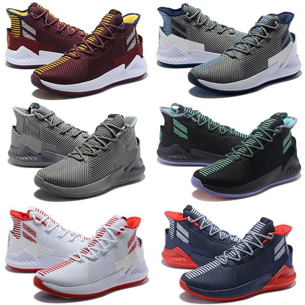 2019 New D Rose 9 Zebra shoes for sale Free shipping Best Derrick Rose Outdoor shoes