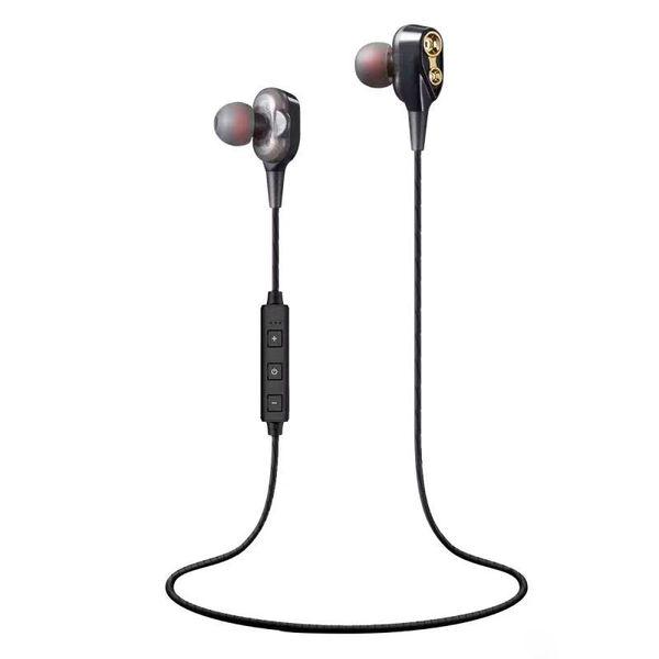 XT-21 Wireless Bluetooth headphones Double Dynamics Sport Earphones BT 4.2 wireless earbuds Headset For iphone xiaomi samsung with best