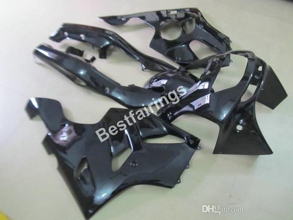 Bodywork fairing kit for Kawasaki Ninja ZX6R 1994 1995 1996 1997 glossy black fairings set ZX6R 94 95 96 97 MT10