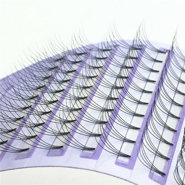 8-14mm 4D Eyelash Prefabricated Roll False Eyelashes Fan Russia C / D Roll Eyelash Personal Extension