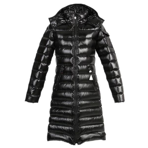 Großhandel Winterjacken Weibliche Mäntel M Verdickung Daunenjacke Daunen Lange Anorak Marke Warme Kleidung Parka Frauen Frankreich sQdCrxth