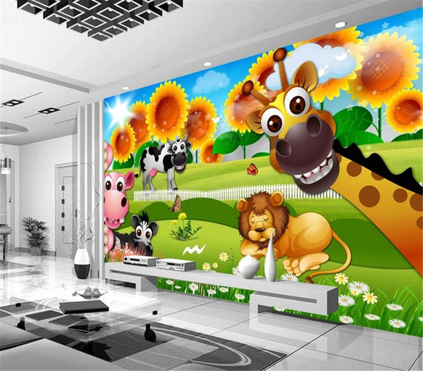 Comic Wallpaper Beautiful Cartoon Background Childrens Room Kids Room Background Wall Painting Wallpaper Free Wallpaper In Hd Free Wallpapers From