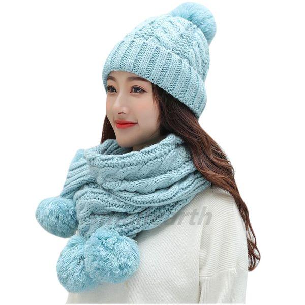2018 otoño invierno mujer sombreros marca de moda sombreros bufanda de  punto de dos piezas conjunto mujeres Gorros casquillo ocasional bufanda  Chapeu ... 2dc80a67a462