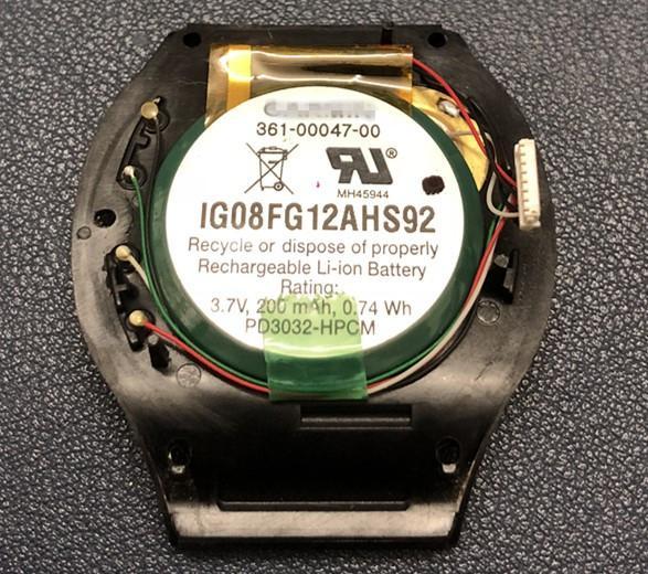 Original-Batterie-Tür-Gehäuse für GARMIN Forerunner 210 361-00047-00 GPS-Uhr-Abdeckung zurück mit Batterie-Ersatzteile