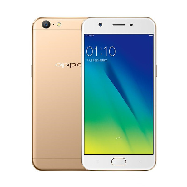 Best Original OPPO A37 A39 Mobile Phone Snapdragon 435 Octa Core 3G RAM 32G  ROM Android 6 0 5 2 FHD 16 0MP Camera Fingerprint 4G LTE Best Value