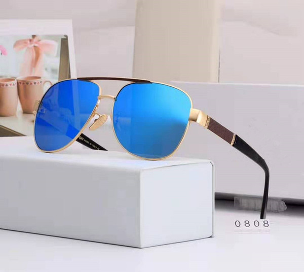 New Arrivals Highend brand Classic style men sunglasses Sport Sun glasses with package Box free shipping 0808.