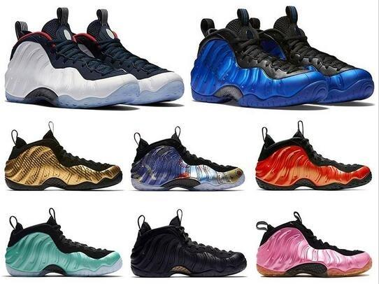Hyper Cobaltb Crimson olympique Penny Hardaway Chaussures Mousses Un Habanero Element Red Rose Sequoia Autre Galaxy OG Hommes Chaussures de basket-ball