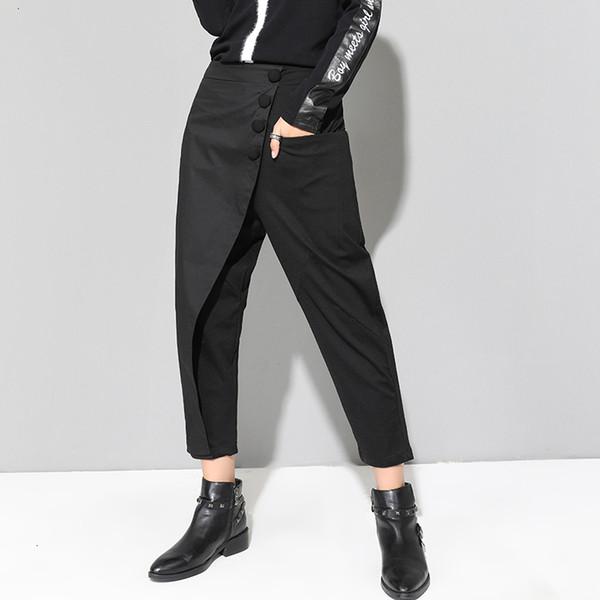 Designer Sweatpants Women Designer Pants Autumn New Womens Pants Europe Cotton Fashion Casual Ladies Harem Female Drop Shipping