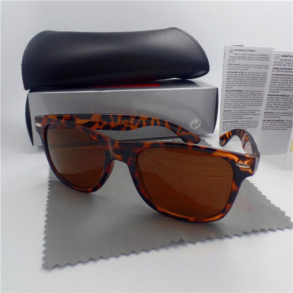 Wholesale-High quality Brand Men Sunglasses UV Protection Outdoor Sport Vintage Women Sunglasses Retro Eyewear With box and cases
