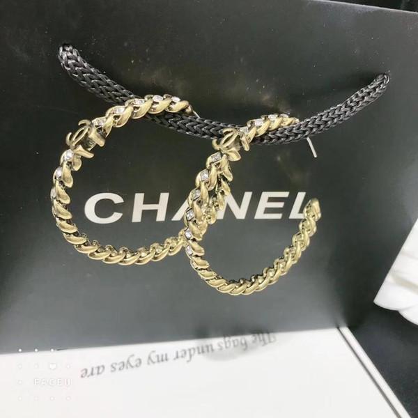 best selling Fashion Designer Letters Earrings Gold Silver Plated Ear Studs Double- Earddrop For Women Girl Party Jewelry