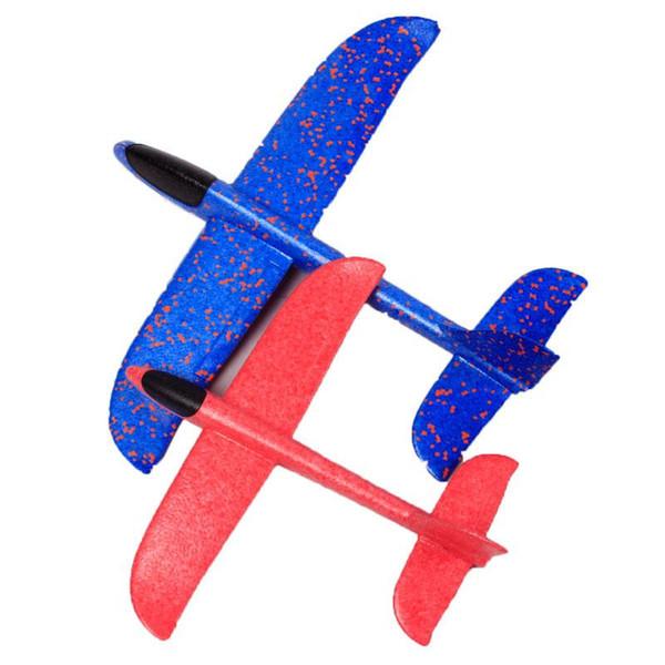 48 cm schiuma fai da te aereo lancio di aliante giocattolo aereo schiuma inerziale EPP mano volo modello alianti divertimento all'aperto aerei sportivi giocattolo per bambini