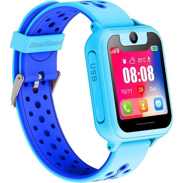 "S6 Children Smart Watch GPS Tracker Watch HD 1.54\"" Touch Screen Remote Camera Anti-lost SOS Alarm SIM Location Device Kids Watc"