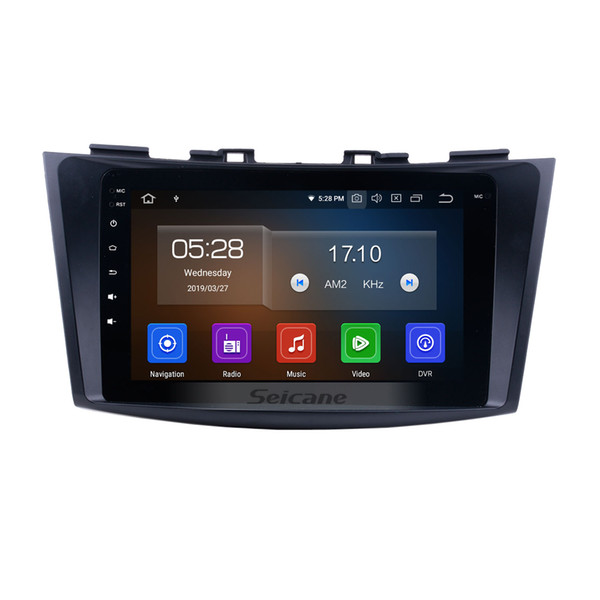 Android 9.0 Touchscreen GPS Navi Car Stereo for 2011 2012 2013 Suzuki Swift with Bluetooth Mirror link WIFI USB support 1080P Video car dvd