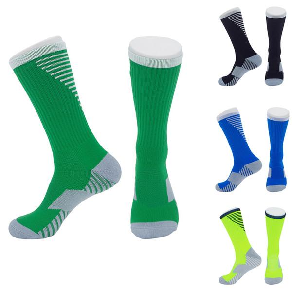 Alta Qualidade Homem Mulher Meias Nenhum-Slip Meias De Basquete De Futebol Longo Médio Dual-Use Resistente Ao Desgaste Toalha De Fundo Elite Sock Livre DHL M113Y