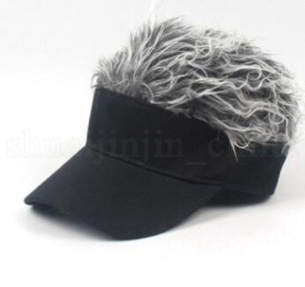 peluca adulta plata diseño
