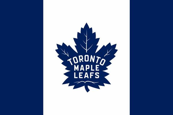 Bandeira de Toronto Maple Leafs Bandeira de time de hóquei de poliéster Canadá 90 x 150 cm