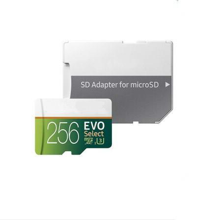 32GB/64GB/128GB/256GB EVO Select Plus micro sd card/smartphone TF card/Actual capacity SDXC Storage card 100MB/S
