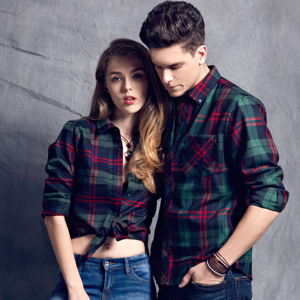 Large Size Men Business Men Dress Shirt Men's Long Sleeve Plaid Shirts Casual Fashion Style Mens Shirts Clothing For Autum Winter