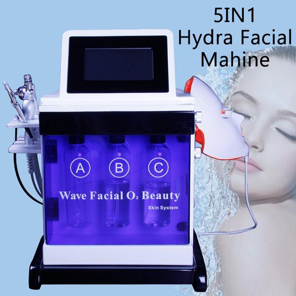 Hydro Dermabrasion Facial Rejuvenecimiento de la piel Eliminar espinillas Máquina Diamond Hydro Microdermabrasion Limpieza profunda Spa Equipos de belleza