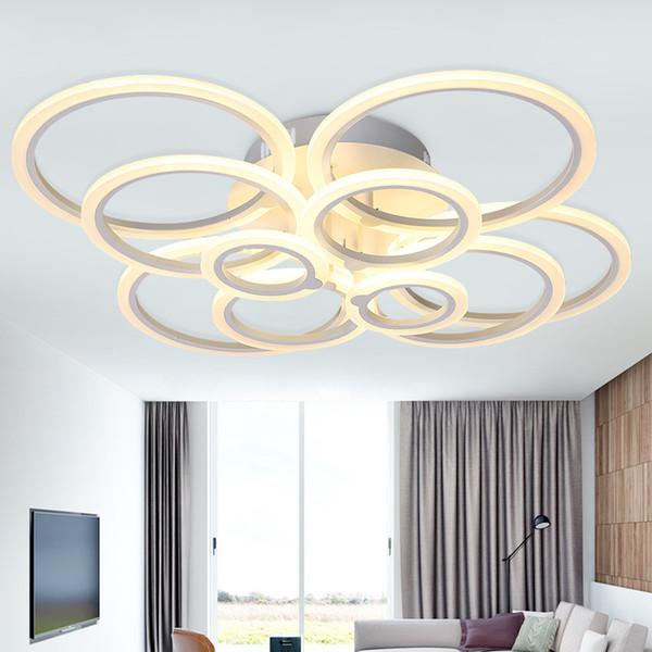 modern led ceiling lights with remote control for livingroom bedroom luminarias parasala dimming led ceiling lamp deckenleuchten