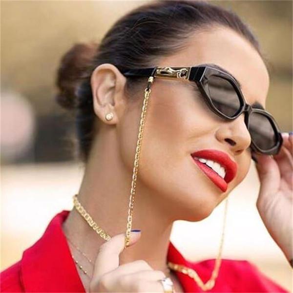Óculos de sol do vintage de luxo Marcas da moda Pequenos óculos de sol Designer de alta moda para mulheres Óculos de sol Cateye bonitos Pontos pretos