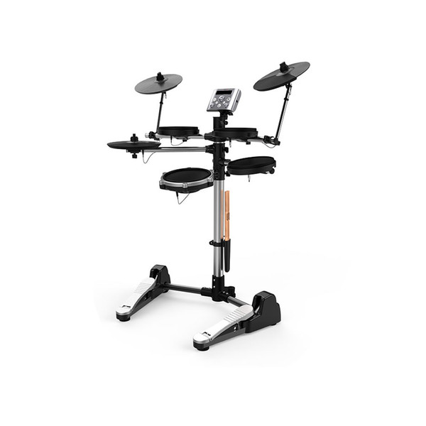 top popular Electronic Drum Set Stand Percussion Music Instruments Build-in Metronome 12 Groups Drum Tones 43 Groups Accompaniment MIDI Jack 2021