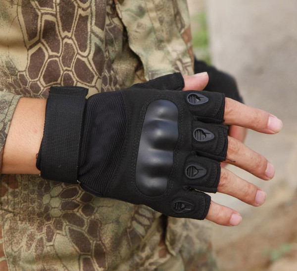 Half-fingered gloves, super-fine men's and women's outdoor sports, skid-proof gymnasium outdoor cycling
