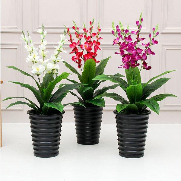 2019 Artificial Plants 90cm Sisal Flower Bonsai Fake Flower Living Room  Decoration Greenery Plant Bonsai Faux Plants Fake From Carmlin, $57.05 | ...