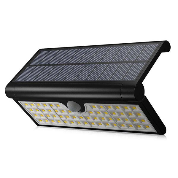 58LED 3W Solar Power LED Solar light Outdoor Wall LED Solar lamp With PIR Motion Sensor Night Security Street Yard Path Garden lamp