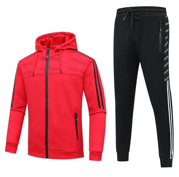 New Arrival mens designer tracksuits Hot Brand Sportsuits Sport Brand Thick Warm Jacket Coats Luxury Suits Clothing XL-5XL 2 Color Available