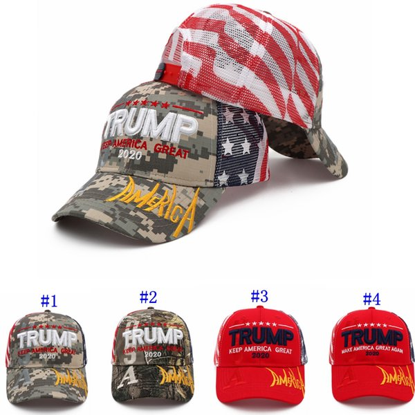 Дональд Трамп 2020 Cap Камуфляж Флаг США Бейсболки Keep президент Америка Great снова SNAPBACK Hat MMA2502