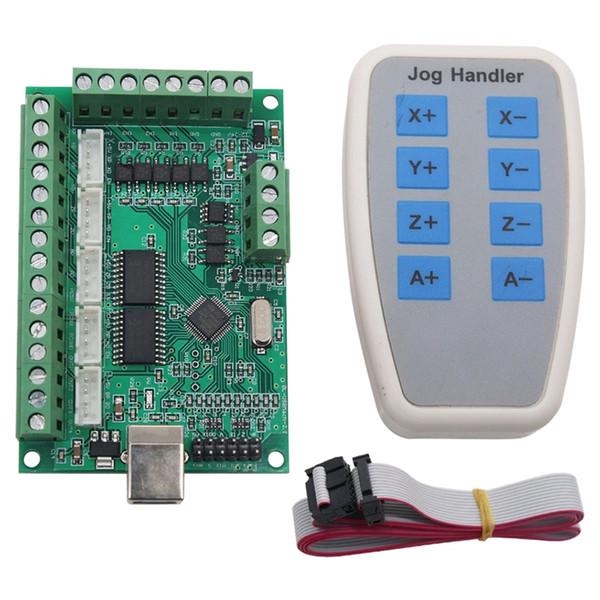 HOT-5 Cnc Axis Mach3 SFE 1000Khz Usb Cnc Motion Control Card Machine de gravure