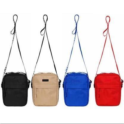 messenger bag 44th classic pack chest pack fashion waist bag men canvas hip-hop belt bags men small shoulder bag 18ss ing