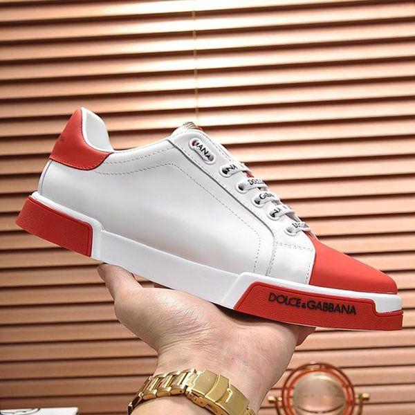 Mode-Männer Schuhe Turnschuhe Schuhe hommes Herren Schuhe Type Luxus Scarpe da uomo Casual Men Schuhe mit Origin Box Leder Big Size gießen
