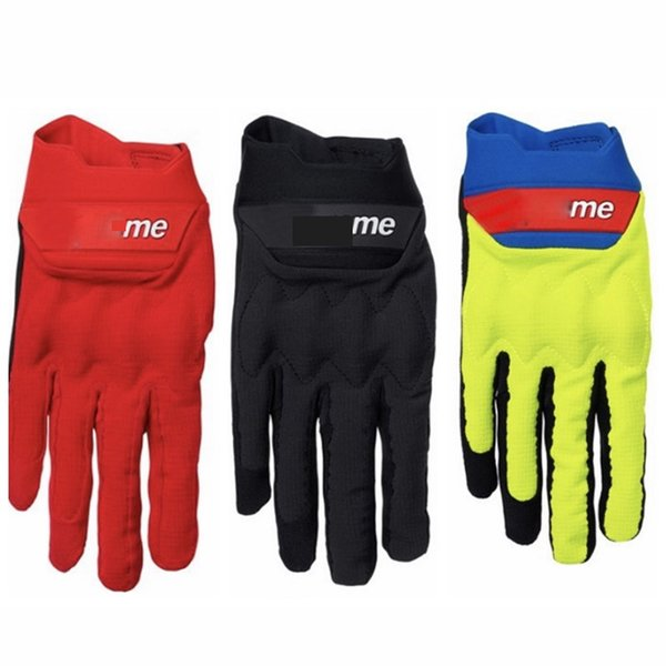 Men Cycling Gloves Breathable Summer Motorcycle Sports Gloves Bike Non-Slip Bicycle Riding Full Finger Long Gloves SIZE M L XL