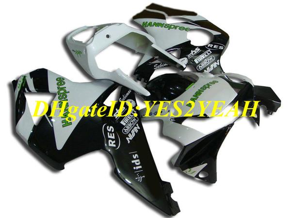 Kit carenatura moto custom per Honda CBR900RR 954 02 03 CBR 900RR CBR900 2002 2003 ABS Cool bianco nero Set carenature + Regali HC28