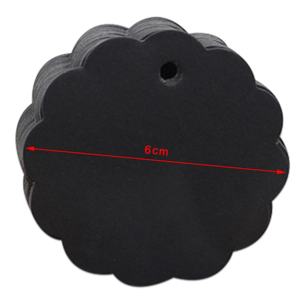 6cm Lace Circle Black