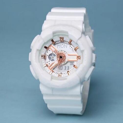 Высочайшее качество женщин ударопрочный водонепроницаемые часы устойчивые наручные часы в стиле молодой дамы Все указатели Цифровые работы Все Циферблат оригинальные