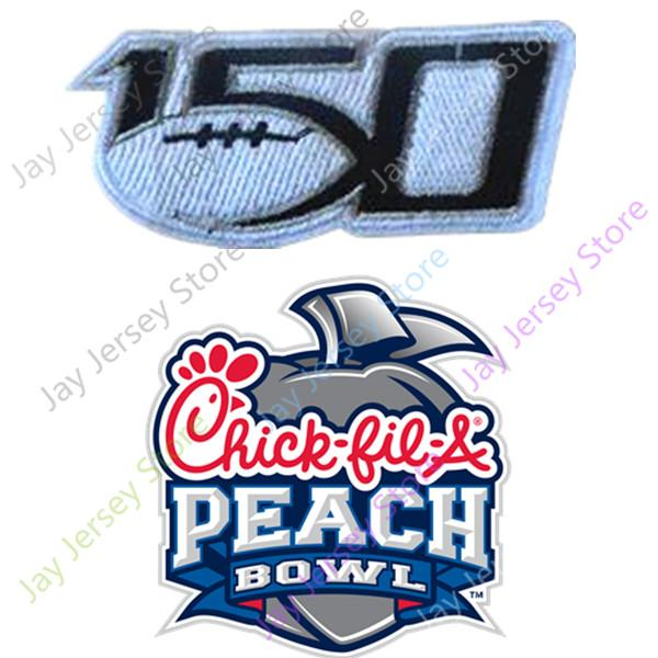 150th+peach bowl patch
