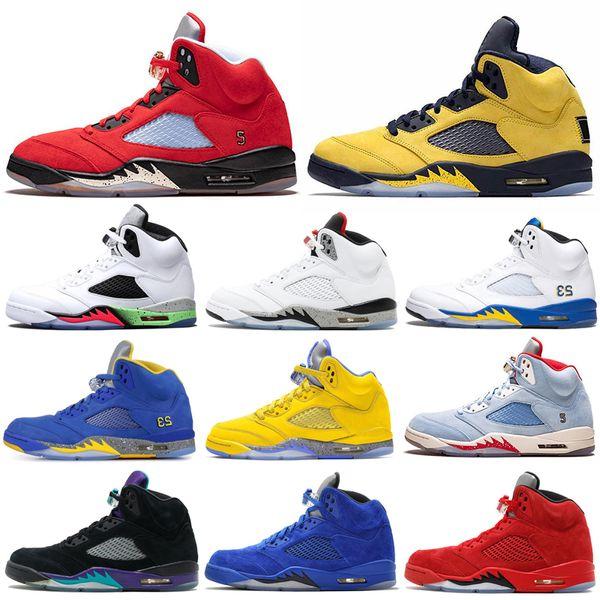 mens air jordan retro 5 basketball shoes