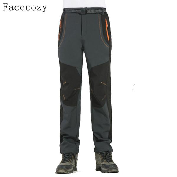 FLYGAGA Women/'s Softshell Trousers Hiking Trousers Ski Pants Fleece Lined LARGE
