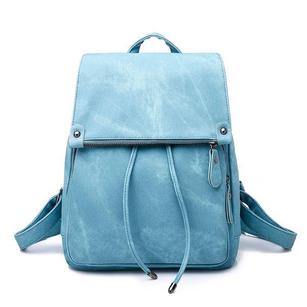 Venta mujeres mochilas para la muchacha adolescentes Denim Vintage bolsas de viaje de escuela del morral del bolso del paquete Femenina de la mochila