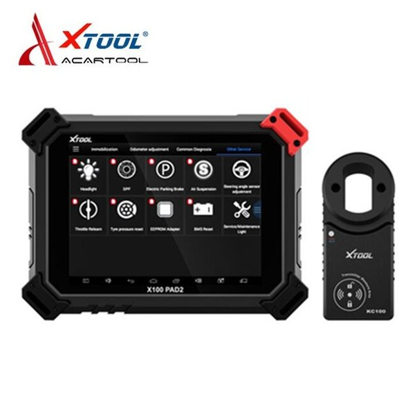 XTOOL X100 PAD2 Pro Auto Key Programmer Odometer Adjustment Car Diagnostic Tool For VW 4th & 5th Immobilizer