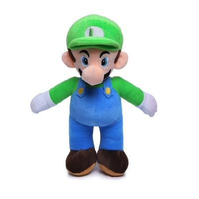 "top popular 2 Style 10"" 25CM MARIO & LUIGI Super Mario Bros Plush Doll Stuffed Toys For Baby Good Gifts EEA424 2020"