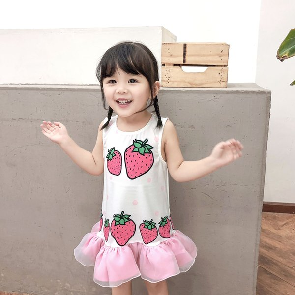 c75e8ec509fa1 2019 Cute Children Kids Baby Girls Dresses Clothes Child Cartoon Summer  Mini Short Dress Kid Enfant Clothing From Betterme530, $20.1 | DHgate.Com
