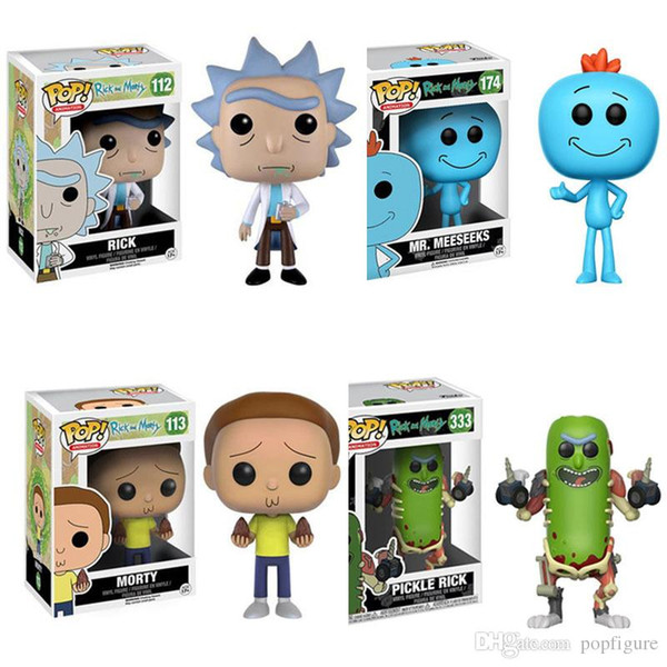 Rick /& Morty 2018, Toy NUEVO Funko Pop Pickle Rick w//Laser Animation