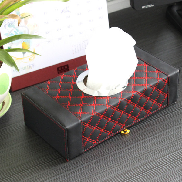 Car House red wine tissue paper towel pumping storage box Home Dual use paper towel box R-7246