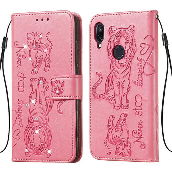 Для Xiaomi Redmi Note 7 Роскошные Bling Алмазный Книжный Стиль PU Кожаный Чехол для Телефона для Xiaomi Redmi K20 7A Кошелек сумка