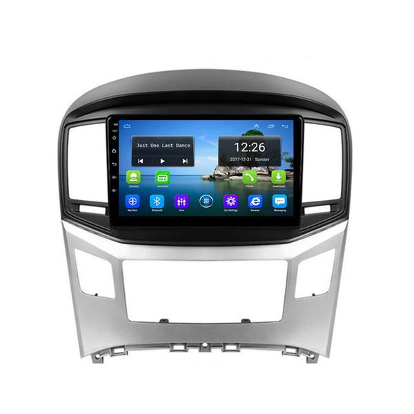 mappa gratuita fotocamera frontale Android 4G LTE HD 1080P ottima carta da parati lettore di musica di alta qualità precisione GPS per Hyundai H1 9inch