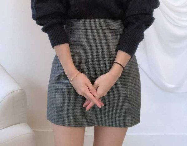 Dark grey skirts